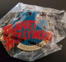 Planet Hollywood Pin / Badge Indianapolis Classic Light Blue Globe Logo