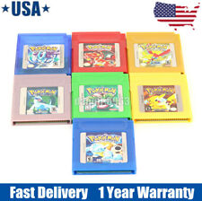 NEW Pokemon Game Card Carts GameBoy GBC For Nintendo Color Version Cartridge US