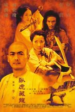 CROUCHING TIGER HIDDEN DRAGON Movie POSTER 27x40 D Chow Yun-Fat Michelle Yeoh
