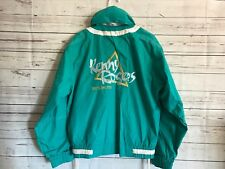 Legendary Kenny Rogers 1999 World Tour Jacket Teal Size Small (36-38)