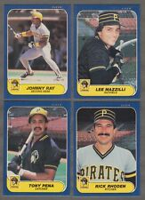 1984 Fleer Pittsburgh Pirates Team Set with Dave Parker /& Bill Madlock 26 Cards