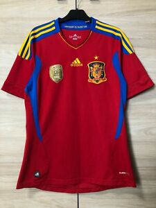 Spain World Cup 2010 Winners Home Football Soccer Shirt Jersey Camiseta size S