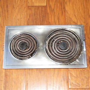 Jenn-Air 2-burner coil cooktop cartridge 88264 & 800134 - oven range model 3350