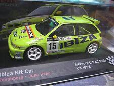 SEAT Ibiza Kit Car Rallye RAC GB 1996 Rovanperä #15 RAR IXO Altaya 1:43