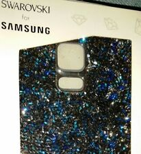 NEW Authentic SWAROVSKI for Samsung Galaxy S5 Crystal Battery Cover, Blue