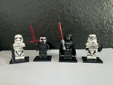 STAR WARS Kylo Ren Darth Vader X4 Sith Custom Minifigures Bundle !UK STOCK!