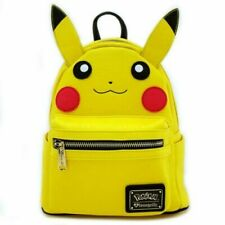 Pokemon Pikachu Mint Loungefly FAux Leather Character Mini Backpack New w/ tags