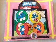 "Vintage Vending Display Card ""Smurf Giant Balloons"" Dexterity Watch"
