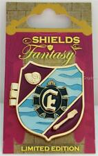 DISNEY WORLD SHIELDS of FANTASY LITTLE MERMAID ARIEL ERIC HINGED PIN LE 1500