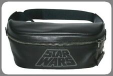 Coach Star Wars X Belt Bag Waist Bag Pack Black Leather Travel Bag F79948