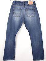 Levi's Strauss & Co Hommes 506 Standart Jeans Jambe Droite Taille W32 L32 BCZ542