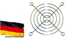 Lüftergitter Schutz-Gitter für Lüfter 80 x 80 mm