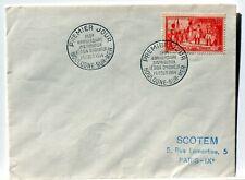 Yt 997 LA LEGION D HONNEUR  OBLI 1° JOUR 1954 FDC FRANCE ENVELOPPE