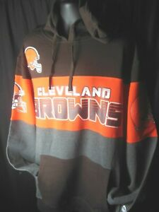 Cleveland Browns NFL Men's G-III Hooded Pullover Sweatshirt 3X or  4X