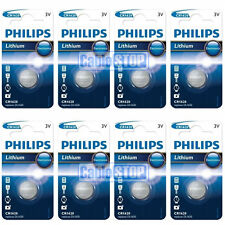 8 x philips CR1620 3V lithium boutons batterie pile bouton DL1620-expiration 2021