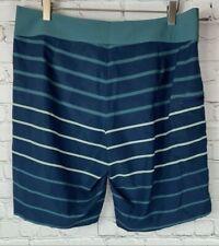 NWT PATAGONIA Mens' Buckland Stone Blue Board Shorts Swim Trunks Size 30 $79.00