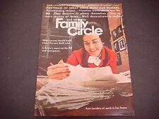 Family Circle Magazine June 1968 Ann Landers Pill & Menopause Earn Money M1743