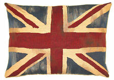 "NEW 18"" x 14"" 45CM X 35CM VINTAGE FLAGS, UNION JACK TAPESTRY CUSHION COVER 4800"