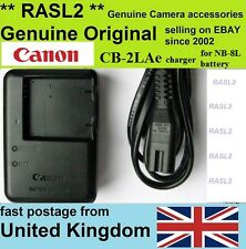 Original Canon CB-2LAE Charger for NB-8L PowerShot A2200 A3100 A3200 A3300 A3350