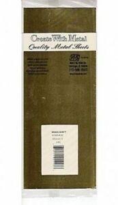 """K&S 253 Brass Sheet  0.032"""" x 4"""" x 10""""     (0.8 x 100 x 254mm est)"""