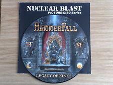 HAMMERFALL - LEGACY OF KINGS - LP 33 GIRI PICTURE DISC LTD. EDITION