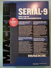 Mackie HDR, MDR, d8b Serial 9 MIDI Card