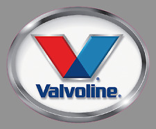 "VALVOLINE Oil Premium Vinyl Decal Sticker - 6"" Wide - NASCAR Racing Car Truck"