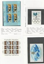 Germany - DDR, Postage Stamp, #2696 Sheet Used, 2698a, 2719, 2766 Mint NH