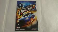 MANUAL INSTRUCCIONES JUICED 2 HOT IMPORT NIGHTS PLAYSTATION 2 PS2 PAL UK INGLES