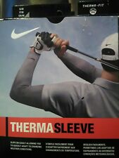 Nike Golf Therma Sleeves (Pr) Adult Unisex NIB w/tags SM/MED Black