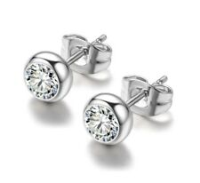 Polished Toddler, Girls' Women's Silver Plated Everyday School Stud Earrings.