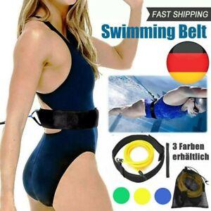 Schwimm Widerstand Tether Pool Schwimm Trainingshilfe Gurt Schwimmtrainer Gürtel