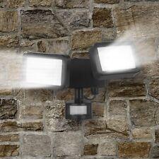 Easymaxx Security LED-Außenstrahler Doppelstrahler mit Bewegungsmelder verstellb