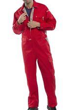 "Click Premium Coverall Boiler Suit  Red 50"""
