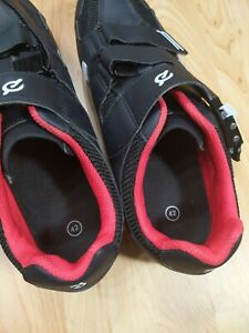 Peloton Cycling Shoes With Cleats Size 42  men 9 / women 11