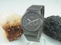 Bering Ceramic Chrono Saphir glas Armbanduhr für Herren 32139-302 Meshband