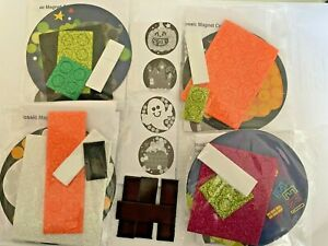 Mosaic Glitter Craft Kit - Under the Sea or Halloween  Makes 4