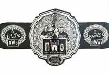NWO World Order Heavyweight Wrestling Championship Title Belt