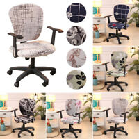 1PCS Swivel Office Computer Chair Covers Stretch Armchair Seat Cover Slipcover