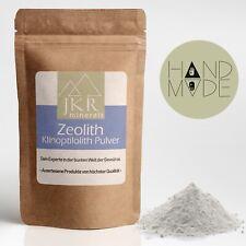 1000g Zeolith Pulver 100% reines Naturprodukt hoher Klinoptilolith Gehalt