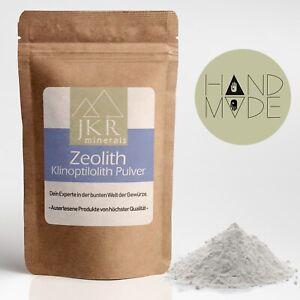 1000g Zeolith Pulver 100% reines Naturprodukt hoher Klinoptilolith-Gehalt