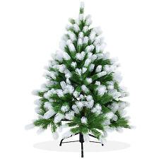 Künstlicher Weihnachtsbaum 120cm Douglasie Spritzguss, Christbaum beschneit;PS01
