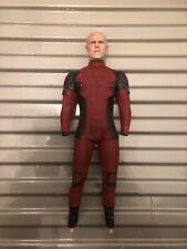 1/6 Scale Deadpool 2 HOTTOYS Body CUSTOM PAINTED HEAD SCULPT Marvel