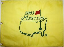 2003 Masters Flag - Mike Weir Canadian Champion