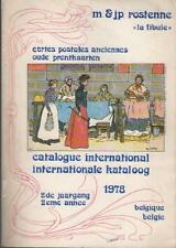 Cartes Postales Anciennes Catalogue - Oude Prentkaarte Kataloog - Rostenne 1978