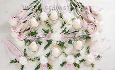 25-tlg. Tischdekoration rosa Hochzeit Taufe Kommunion Tischdeko TD0061(1)