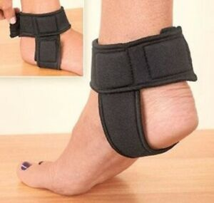 Achilles Tendon Support Wrap Therapeutic Adjustable 2-way Straps Foam Padding