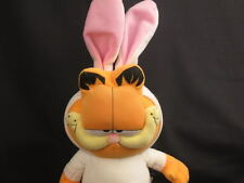 BIG CHOCOLATE IS MY LIFE GARFIELD FAT CAT BUNNY COSTUME PLUSH STUFFED EASTER TOY