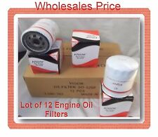 CASE OF 12 ENGINE OIL FILTER SO5288 Fits: BUICK CADILLAC CHEVROLET GMC ISUZU