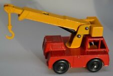 VINTAGE LESNEY MATCHBOX N. 42 Ferro Fata CRANE TRUCK-molto Quasi Nuovo